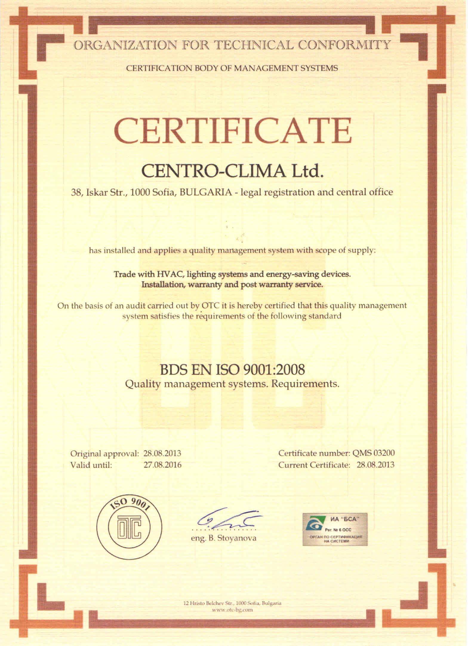 Centro Clima Ltd